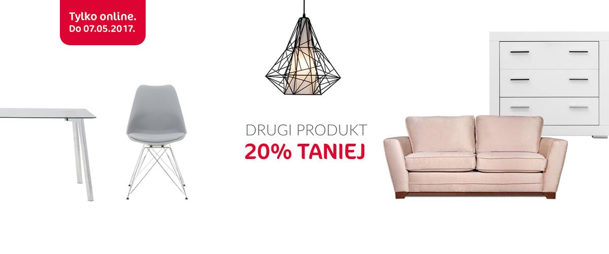 Agata Meble: 20% rabatu na drugi produkt