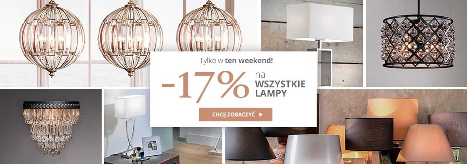 Almi Decor: 17% rabatu na wszystkie lampy
