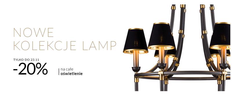 Almi Decor: 20% rabatu na nowe kolekcje lamp