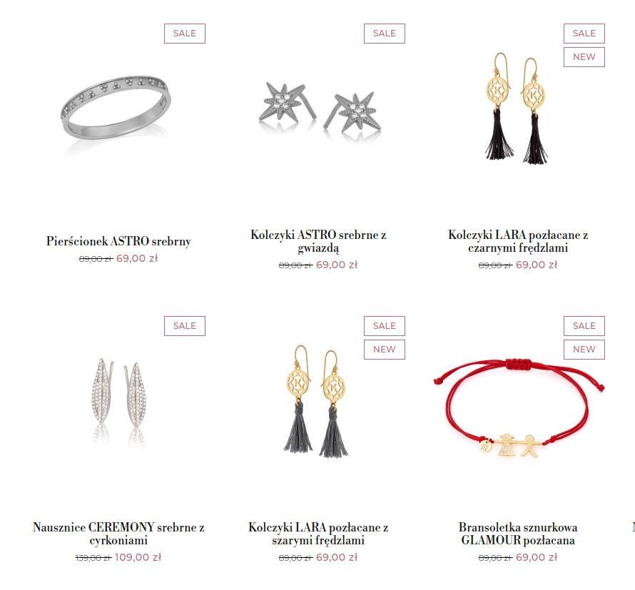 Ania Kruk: wyprzedaż do 40% rabatu na biżuterię - zrób prezent na Walentynki