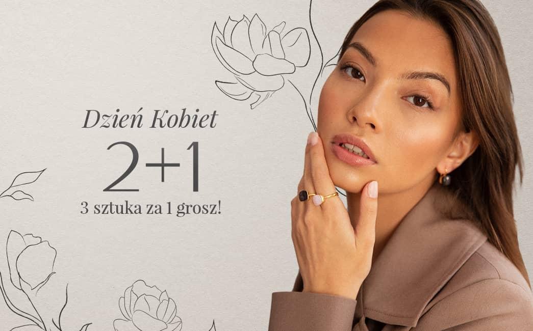 Ania Kruk: trzecia sztuka biżuterii za  1 grosz - promocja na Dzień Kobiet