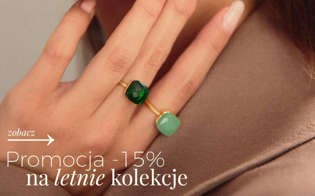 Ania Kruk: 15% zniżki na biżuterię damską - letnie kolekcje