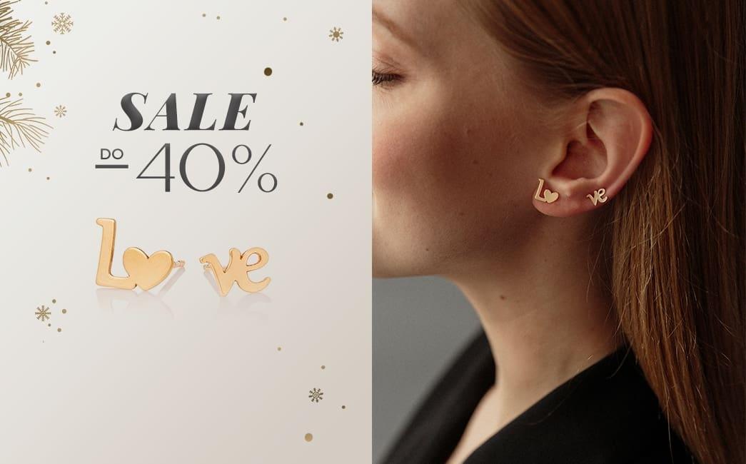 Ania Kruk: wyprzedaż do 40% zniżki na biżuterię srebrną i złotą