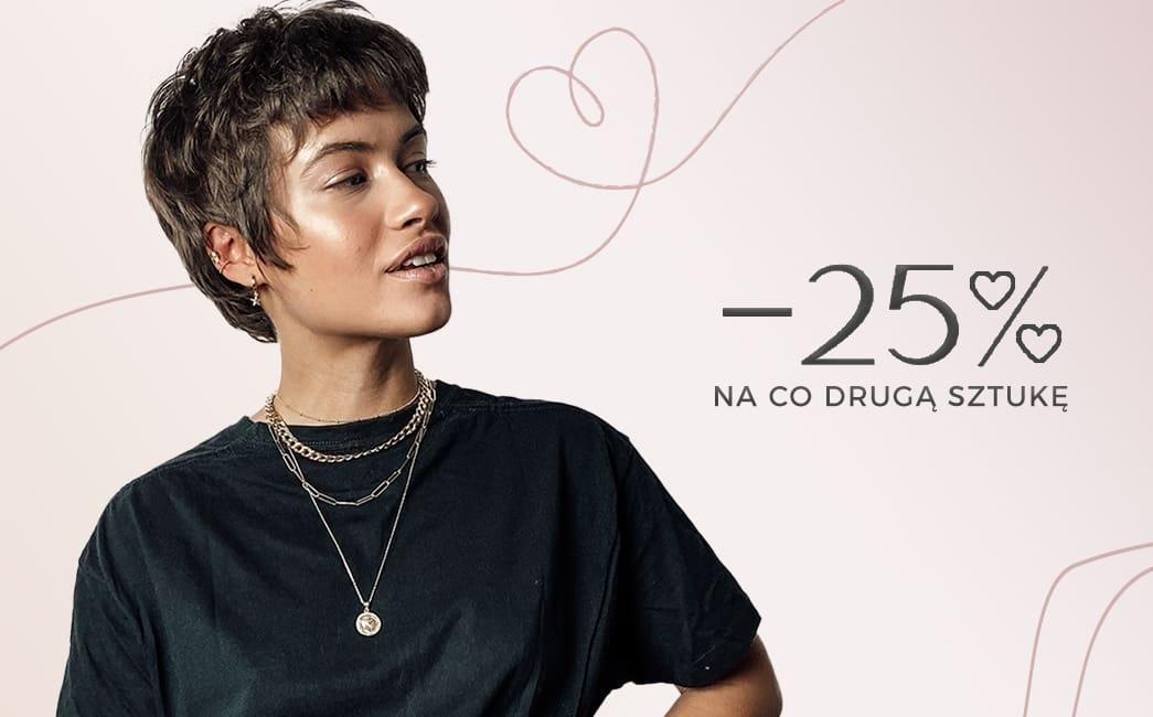 Ania Kruk: Walentynkowa Promocja 25% rabatu na co drugą sztukę biżuterii