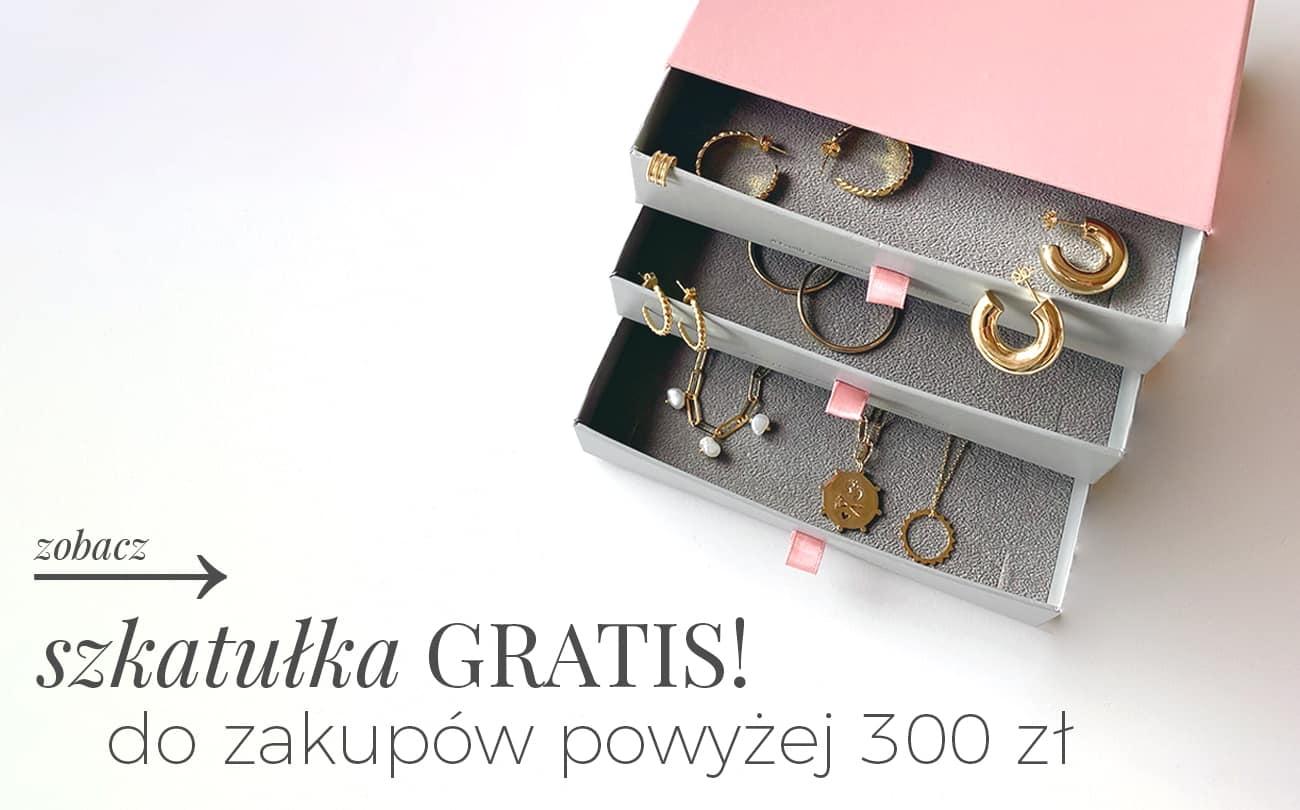 Ania Kruk: do zakupów powyżej 300 zł szkatułka Gratis