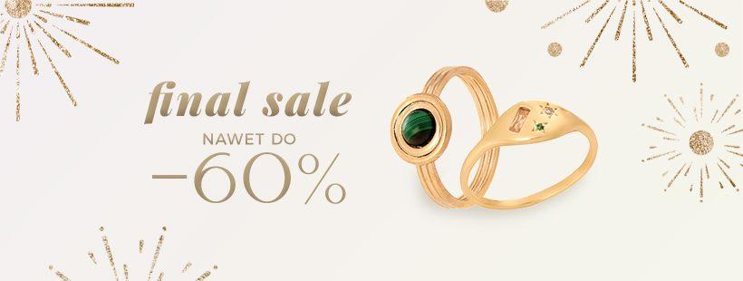 Ania Kruk: wyprzedaż do 60% rabatu na biżuterię srebrną i złotą