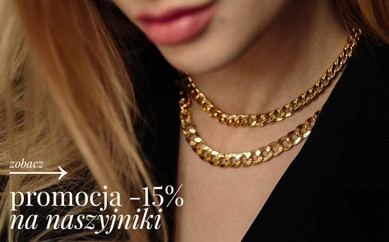 Ania Kruk: 15% rabatu na naszyjniki