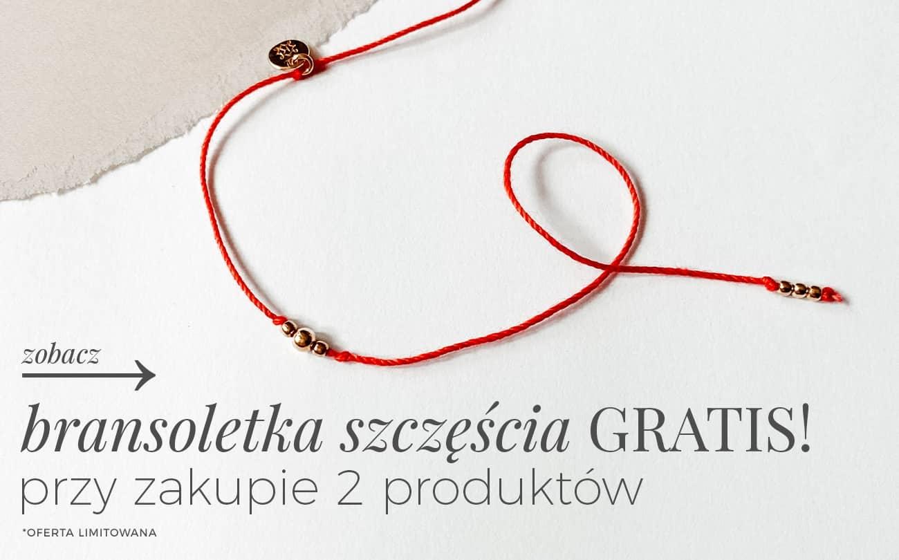 Ania Kruk: przy zakupie 2 produktów bransoletka szczęścia Gratis
