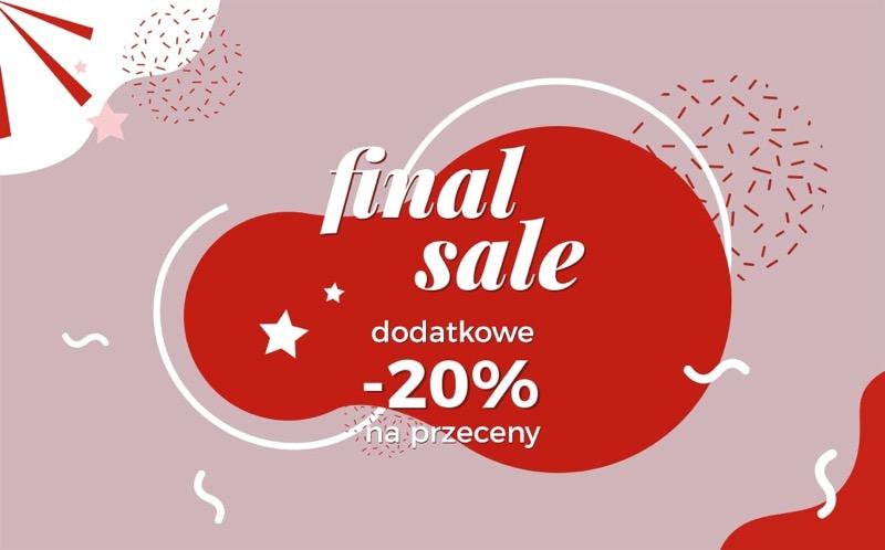 Ania Kruk: wyprzedaż dodatkowe 20% rabatu na przeceny biżuterii                         title=