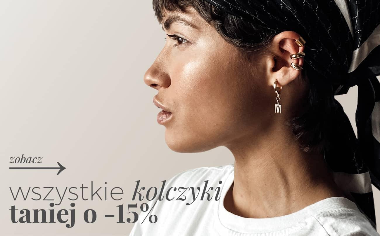 Ania Kruk: 15% rabatu na wszystkie kolczyki