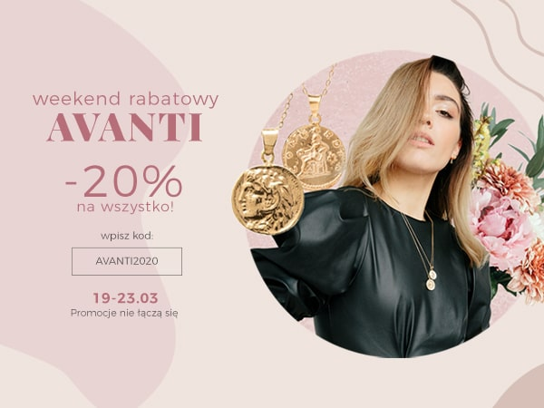 Ania Kruk: Weekend Rabatowy 20% rabatu na oryginalną i elegancką biżuterię                         title=