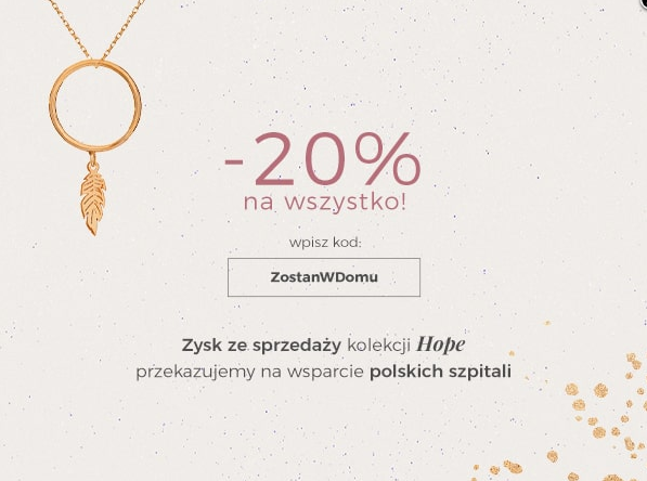 Ania Kruk: 20% rabatu na cały asortyment biżuterii                         title=