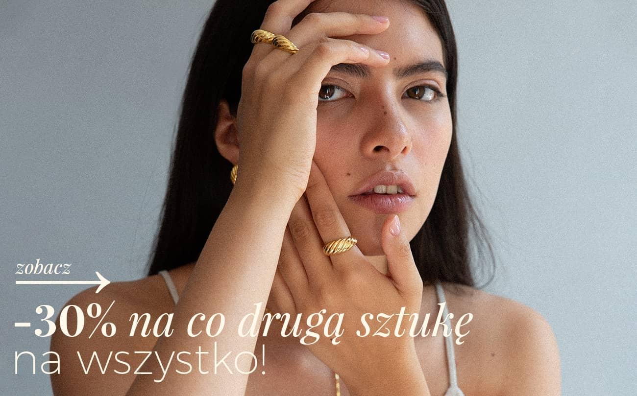 Ania Kruk: 30% rabatu na co drugą sztukę biżuterii