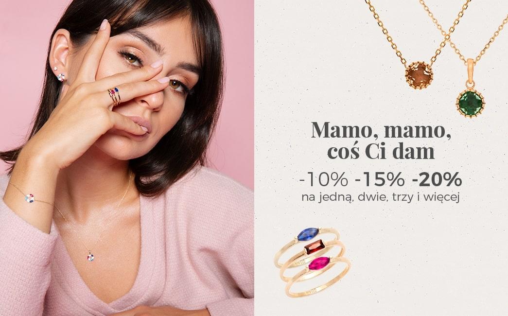 Ania Kruk: do 20% rabatu na biżuterię na Dzień Matki                         title=