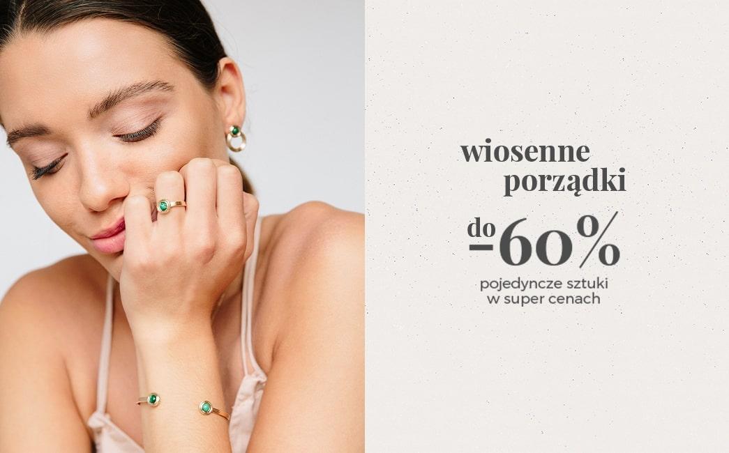 Ania Kruk: do 60% rabatu na pojedyncze sztuki biżuterii - wiosenne porządki                         title=