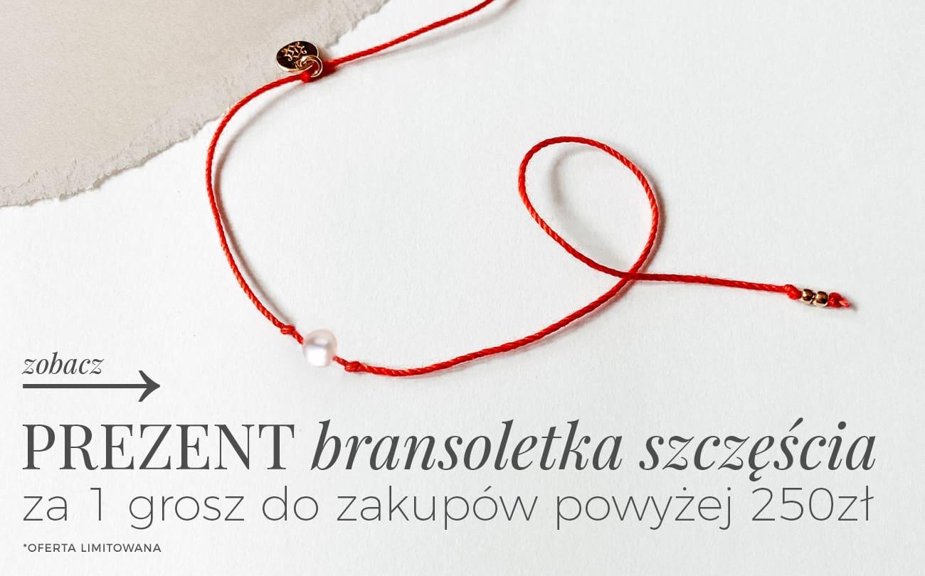 Ania Kruk: zrób zakupy powyżej 250 zł, a bransoletkę szczęścia otrzymasz za 1 grosz