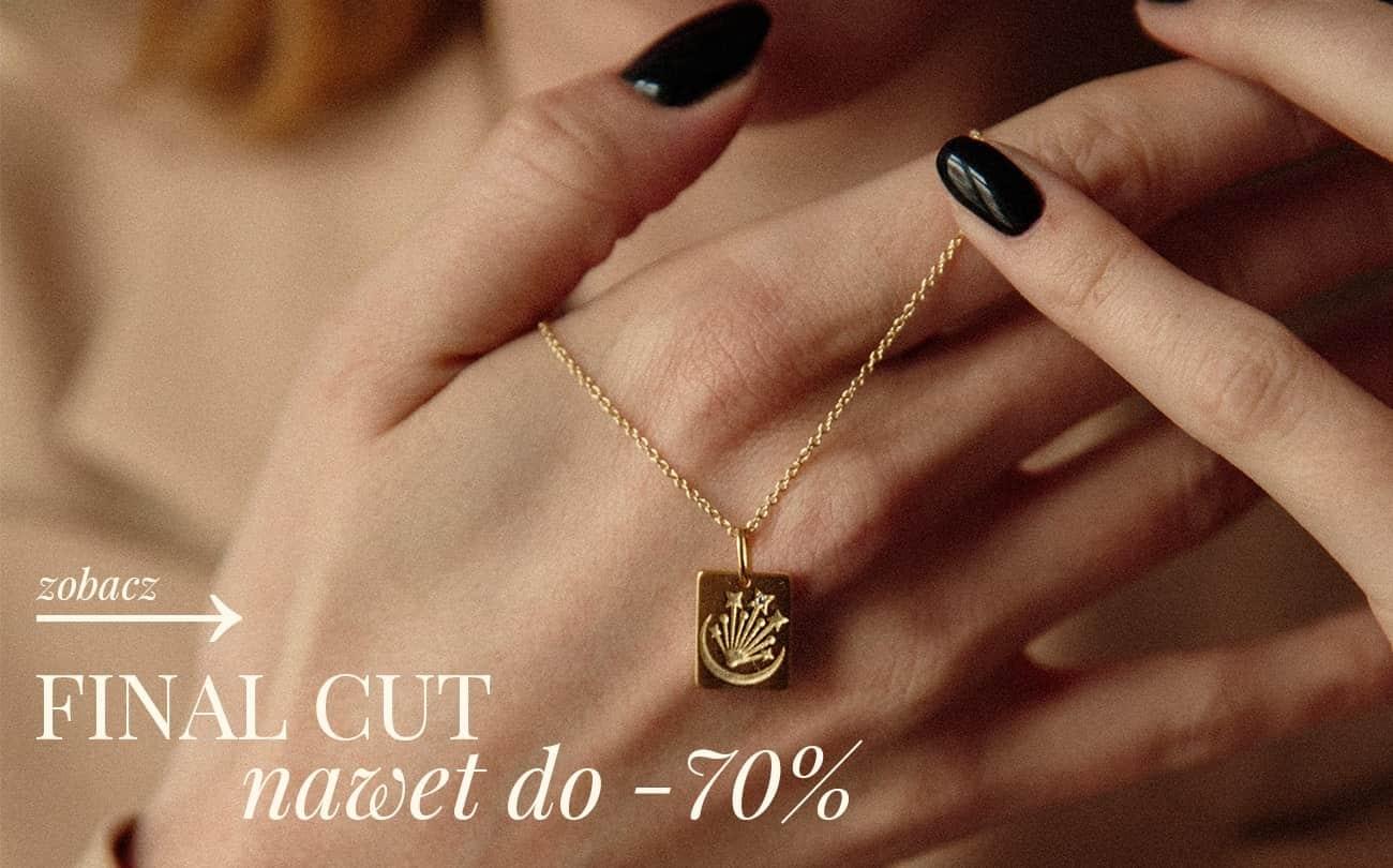 Ania Kruk: wyprzedaż do 70% rabatu na biżuterię damską - ostateczna wyprzedaż
