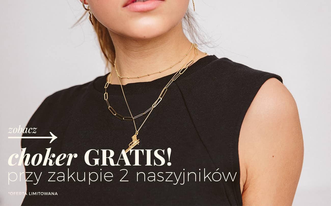Ania Kruk: przy zakupie 2 naszyjników, choker gratis