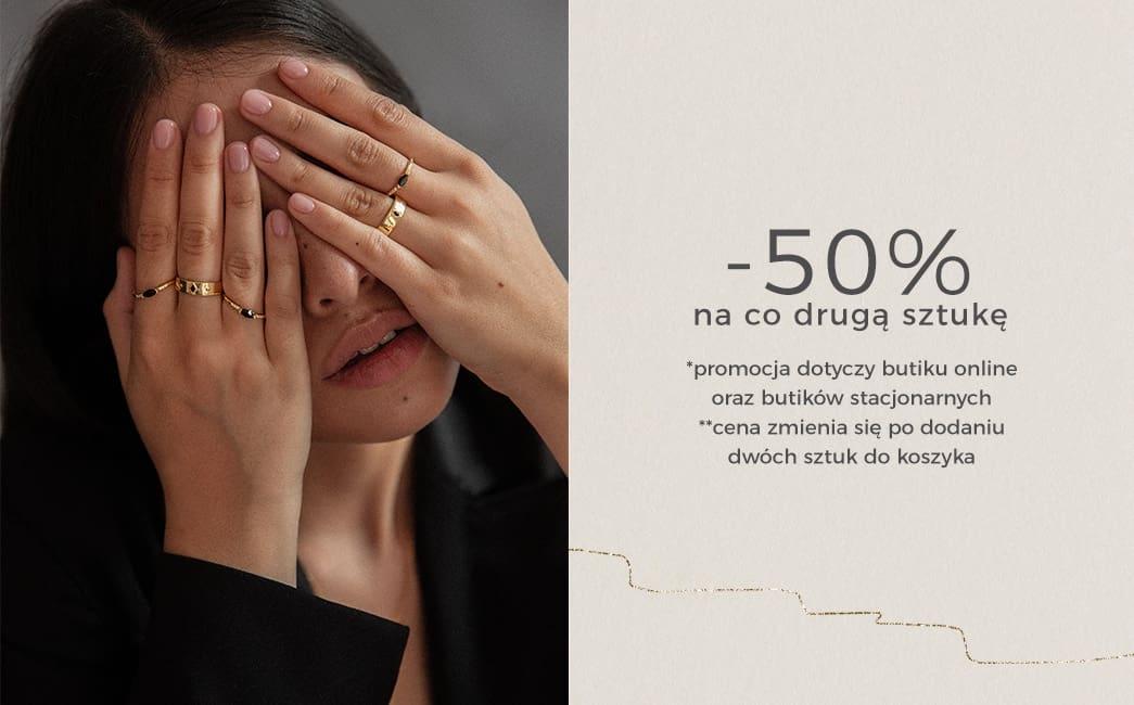 Ania Kruk: 50% rabatu na co drugą sztukę biżuterii