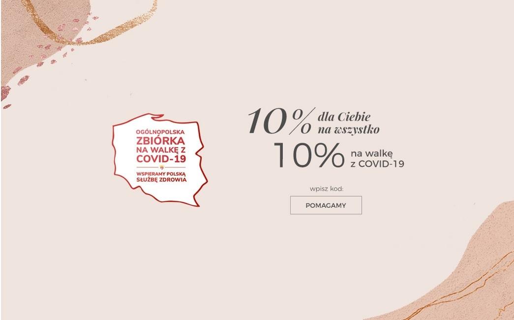 Ania Kruk: 10% zniżki na biżuterię i 10% na walkę z COVID-19                         title=