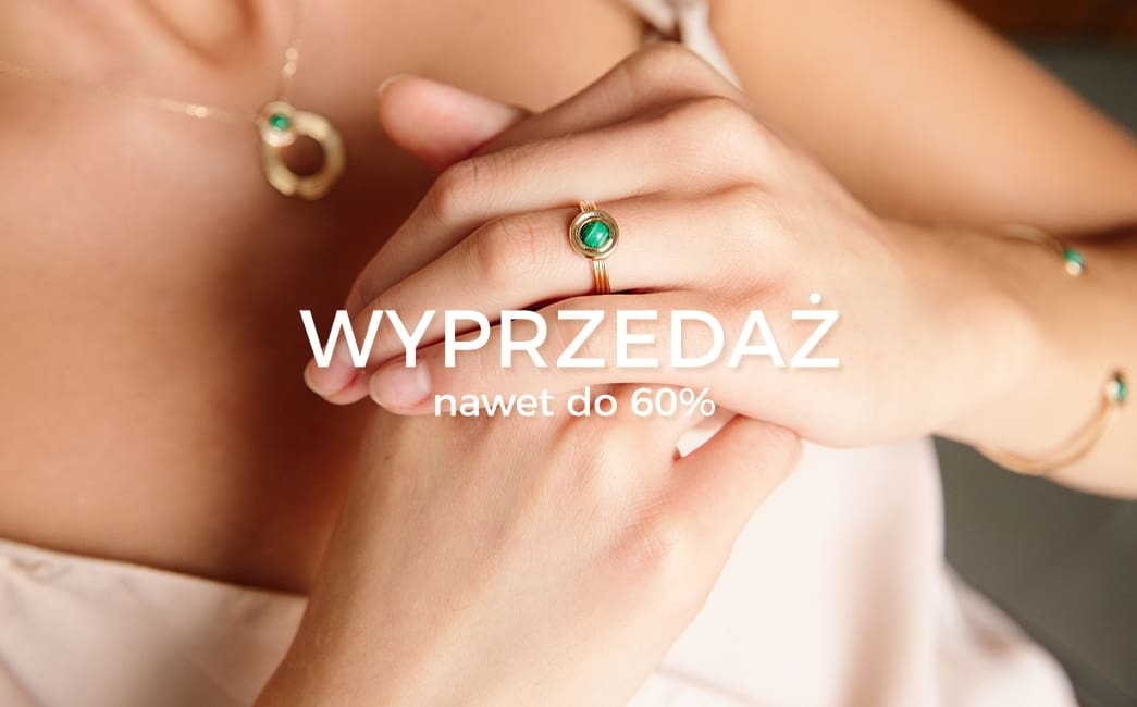 Ania Kruk: wyprzedaż do 60% zniżki na biżuterię                         title=