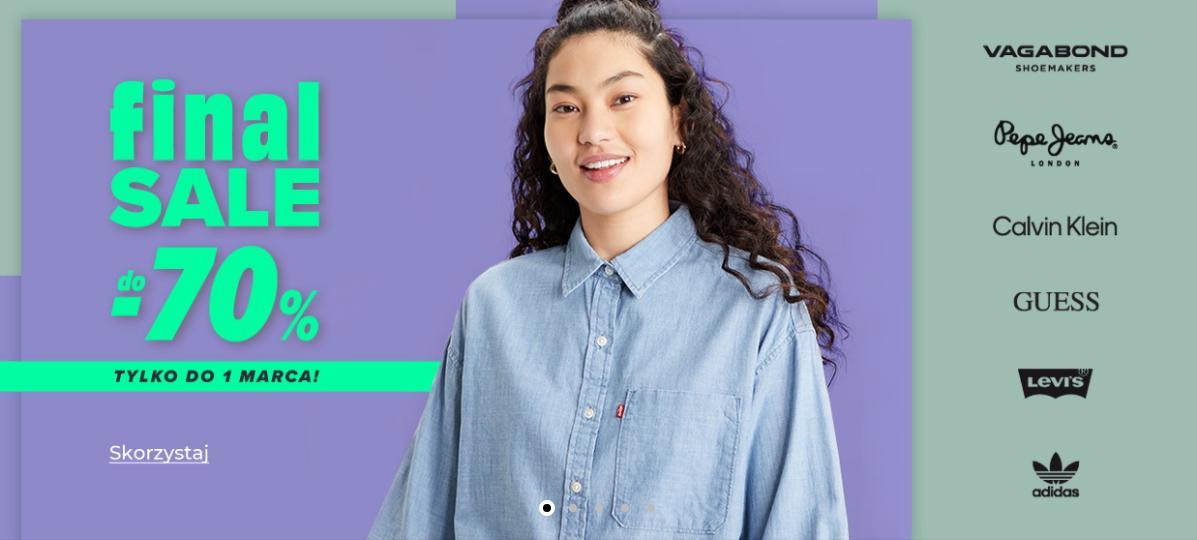 Answear: wyprzedaż do 70% rabatu na odzież, obuwie oraz akcesoria znanych marek