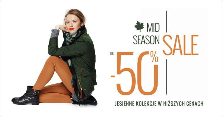 Answear Mid Season Sale - jesienne kolekcje do 50% zniżki