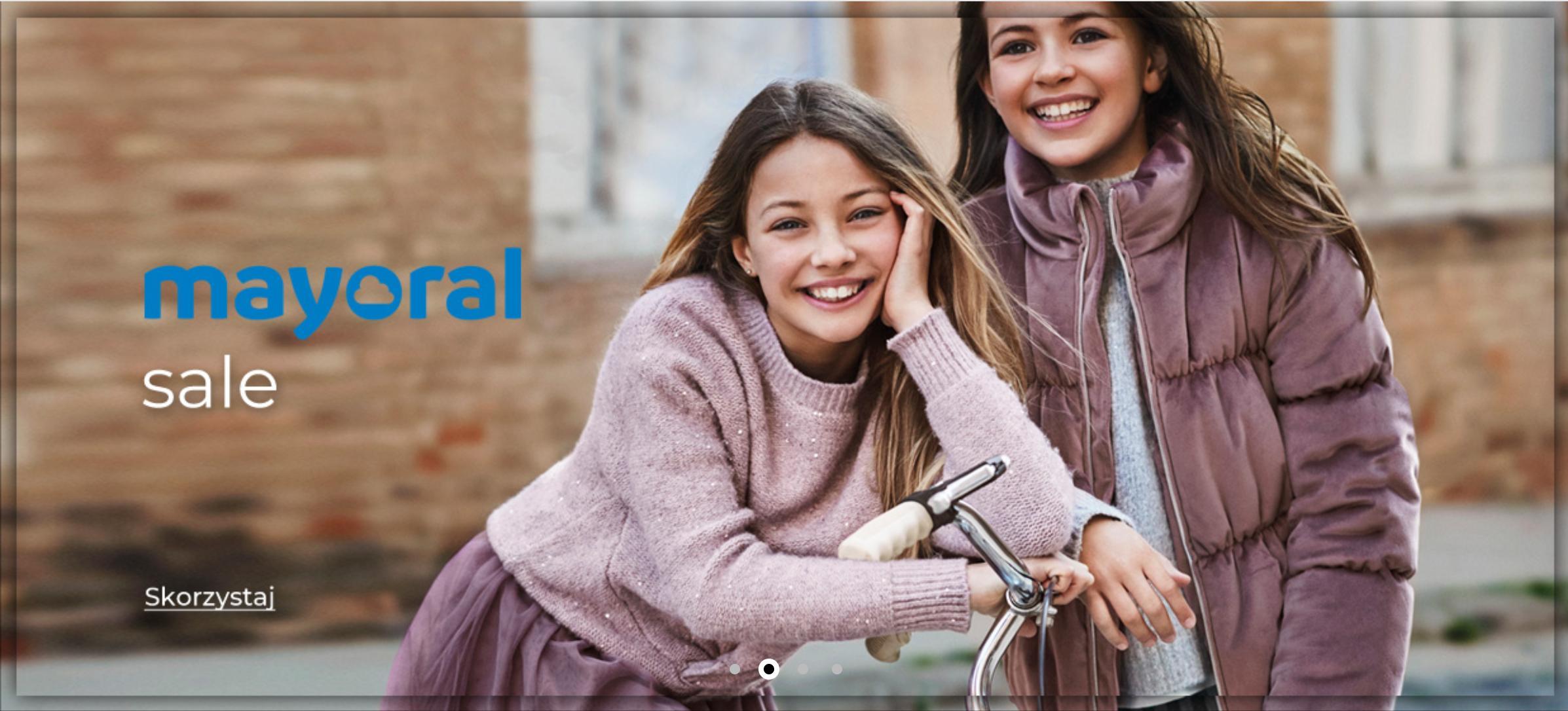 Answear: wyprzedaż do 50% rabatu na odzież dziecięcą marki Mayoral