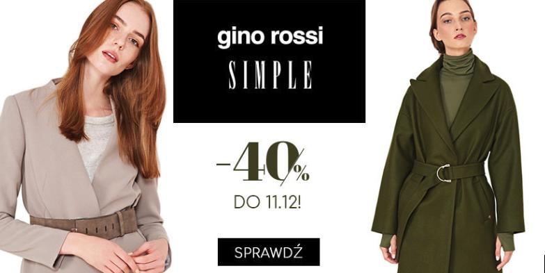 538dfa620e Answear  40% rabatu na marki Simple oraz Gino Rossi