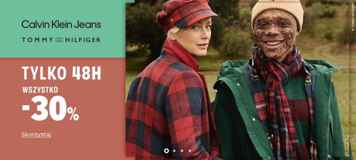 Answear Answear: 30% zniżki na wybrane produkty marek Tommy Hilfiger i Calvin Klein
