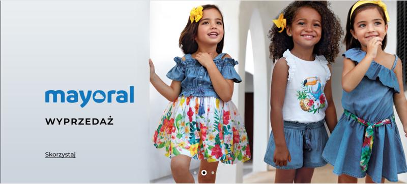 Answear: wyprzedaż do 70% rabatu na odzież dziecięcą marki Mayoral                         title=