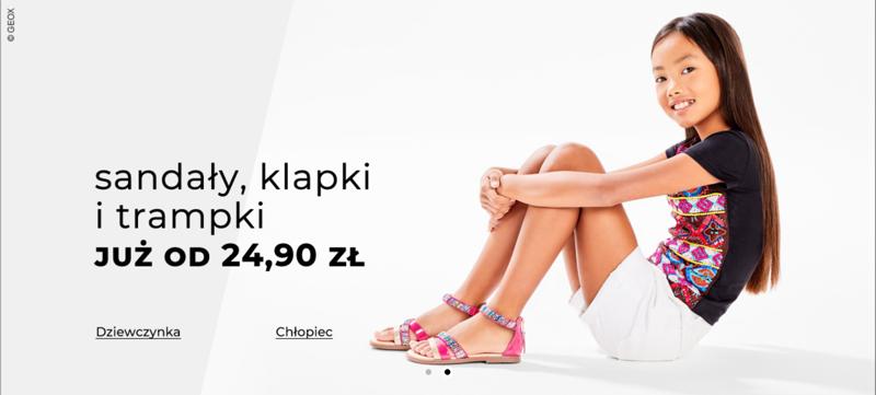 Answear: na sandały, klapki i trampki dziecięce od 24,90 zł