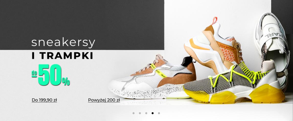Answear: do 50% zniżki na sneakersy i trampki damskie, męskie i dziecięce