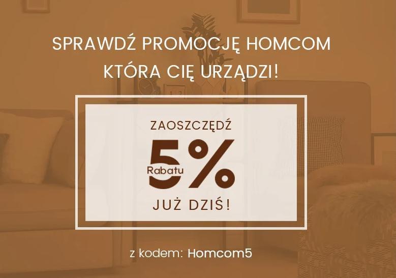 Aosom: 5% zniżki na produkty marki Homcom