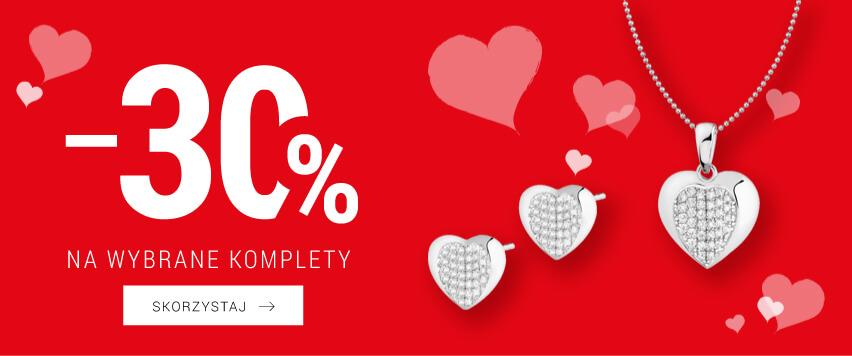 Apart Apart: 30% zniżki na wybrane komplety biżuterii