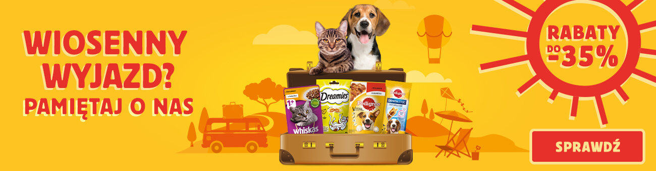 Apetete: do 35% zniżki na karmy dla psa i kota