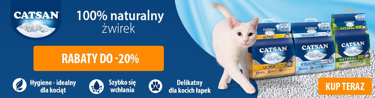 Apetete: do 20% zniżki na żwirek dla kota marki Castan
