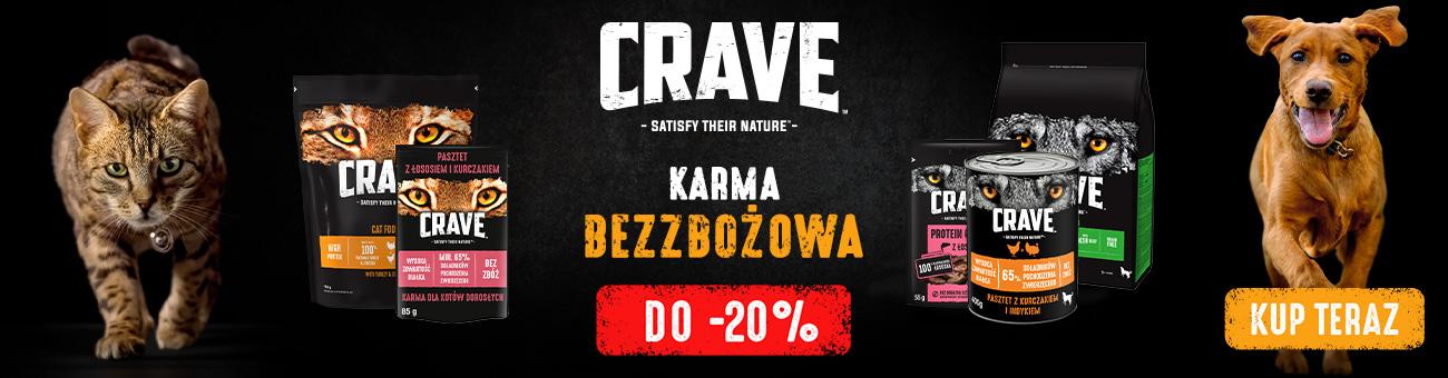 Apetete Apetete: do 20% rabatu na karmy bezzbożowe Crave