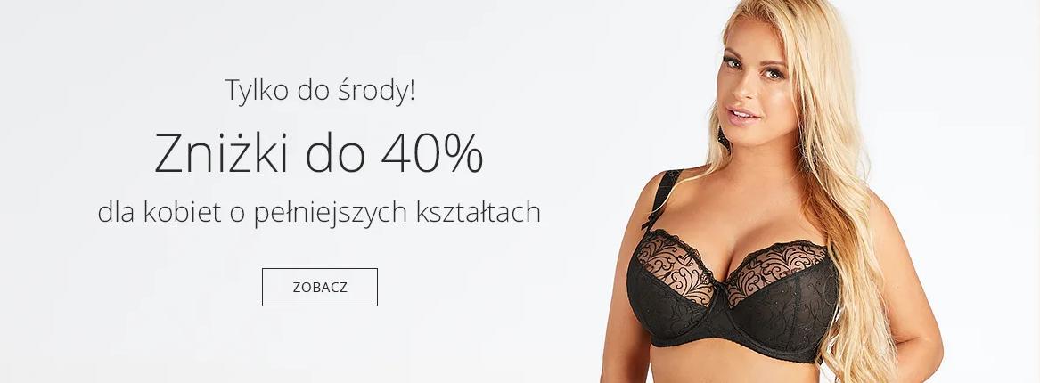 Astratex Astratex: do 40% rabatu na bieliznę dla kobiet o pełniejszych kształtach