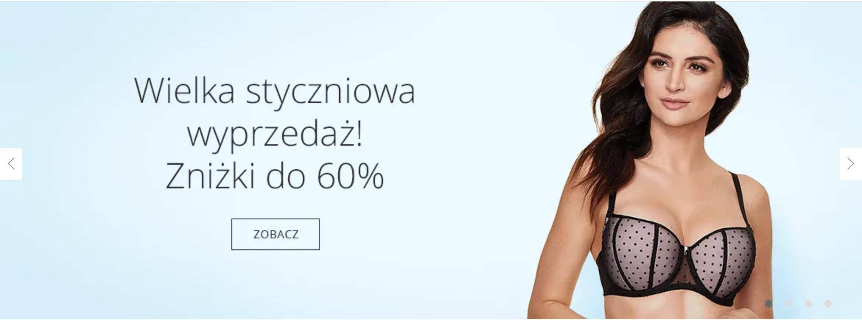 Astratex: wielka styczniowa wyprzedaż do 60% rabatu na bieliznę damską, męską i dziecięcą