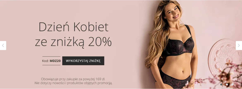 Astratex Astratex: 20% rabatu na bieliznę damską, męską i dziecięcą - promocja na Dzień Kobiet