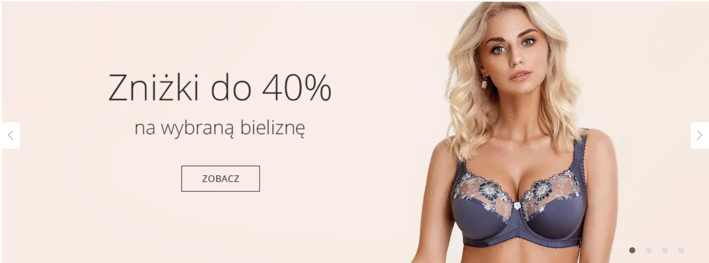 Astratex Astratex: do 40% rabatu na wybraną bieliznę damską, męską i dziecięcą