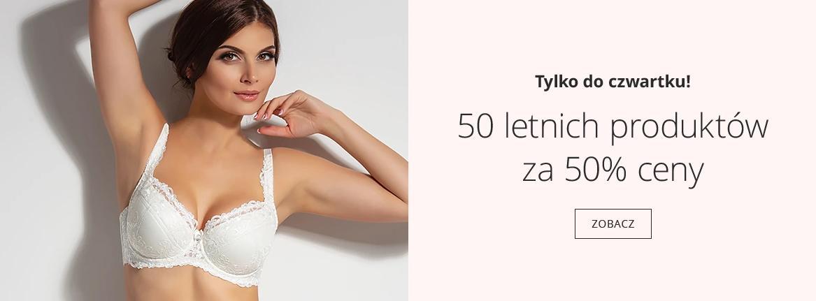 Astratex: 50% zniżki na 50 letnich produktów - bielizna damska