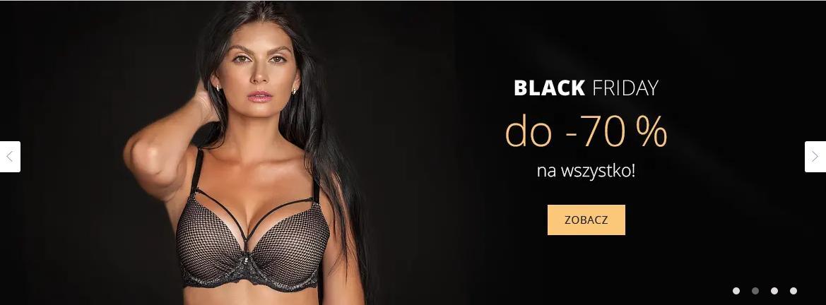 Astratex Astratex: Black Friday do 70% rabatu na bieliznę damską, męską i dziecięcą