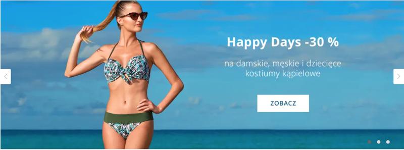 Astratex: 30% zniżki na damskie, męskie i dziecięce kostiumy kąpielowe                         title=