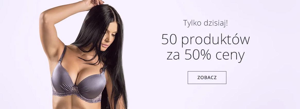 Astratex Astratex: 50% rabatu na 50 produktów z bielizny damskiej