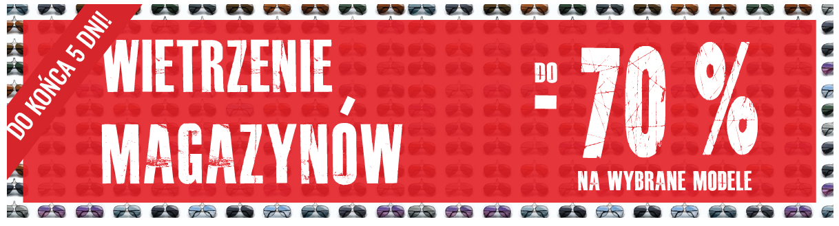 Aurore: wyprzedaż do 70% rabatu na wybrane modele okularów