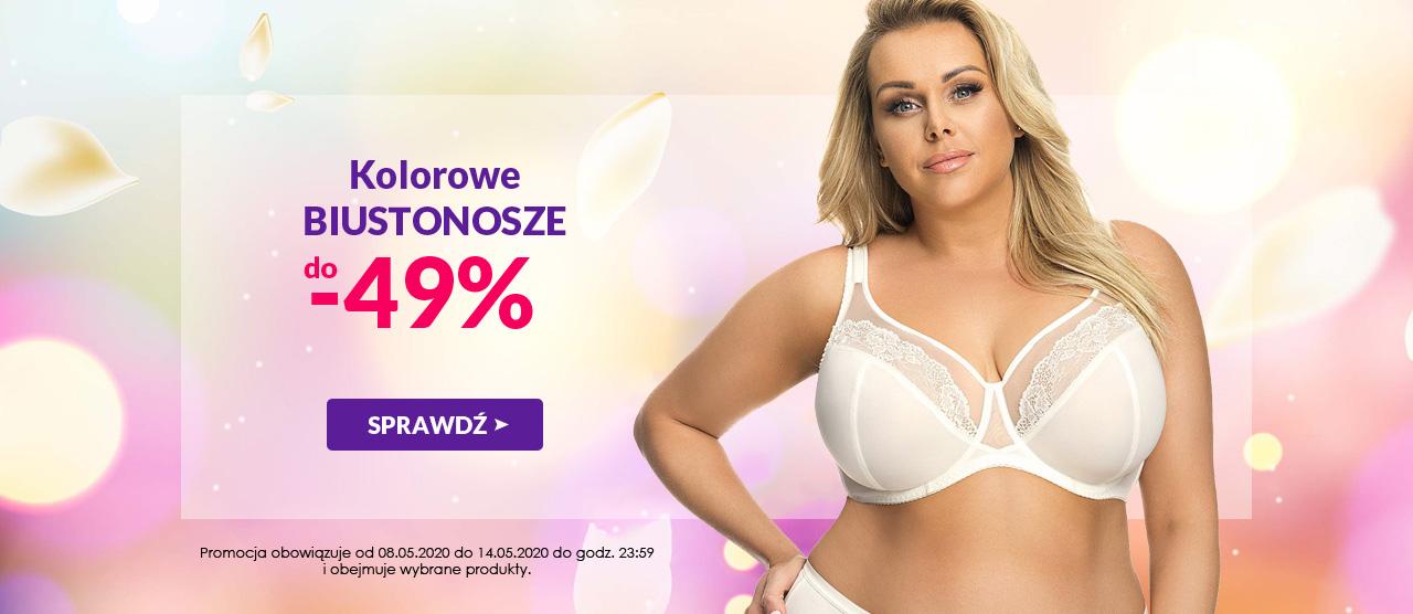 Avaro: do 49% zniżki na kolorowe biustonosze                         title=