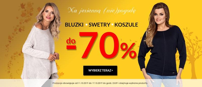 Avaro: do 70% rabatu na bluzki, swetry i koszule damskie                         title=