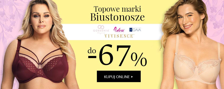 Avaro: do 67% zniżki na biustonosze topowych marek Ava, Gaia, Gorsenia, Vivisence